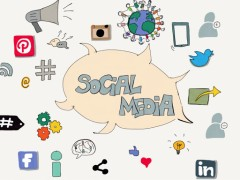 The use of digital and social media to communicate with customers